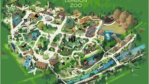 Zoo England Map London Zoo London Trip 2 Zoo Map Visual Map London Map