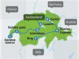 Zurich Switzerland Map Europe Switzerland by Train From 307 Switzerland Train Routes